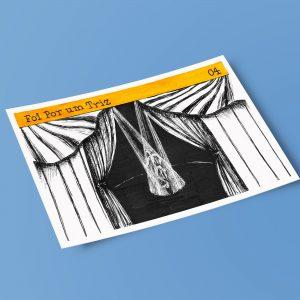 Postal Foi Por Um Triz | Vicente